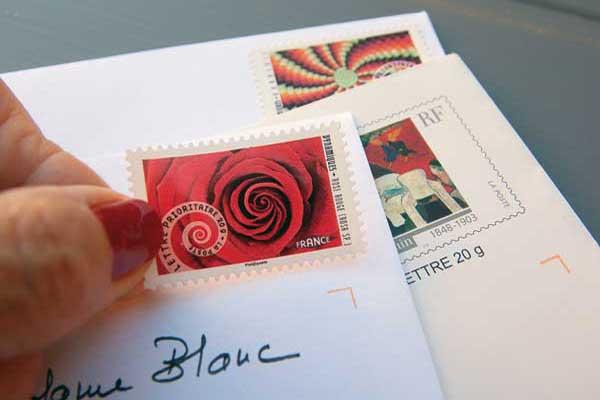 Une boîte aux lettres au sein de la Résidence