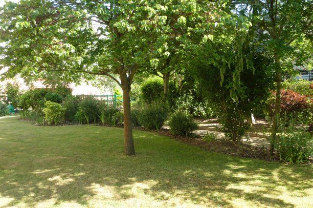 Jardin paysager entretenu toute l'année